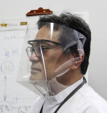 顔用防護具を寄付で量産、大阪大 全国の病院に無償提供 画像1