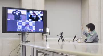 首都圏の「自粛解除は一体」で 4知事、テレビ会議で確認 画像1