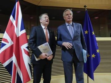英、EU側の協定提案「質低い」 貿易交渉で強く非難 画像1