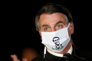 ブラジル大統領は感染増に無頓着 防止策より経済 画像1