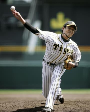 阪神の藤浪がシート打撃で好投 打者5人から4三振 画像1