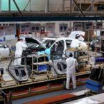 4月8日、中国湖北省武漢市にあるホンダの自動車工場(ロイター=共同)