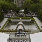 広島市の平和記念式典=2019年8月6日