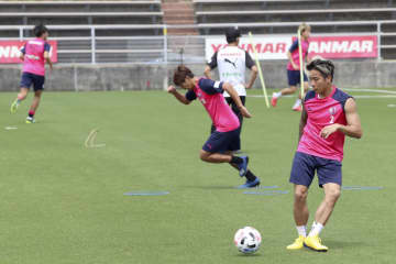 J1、近畿3クラブが練習再開 2カ月ぶりG大阪、C大阪、神戸 画像1