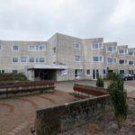 複数の入居者が死亡した高齢者施設=3月29日、ドイツ北部ウォルフスブルク(DPA・AP=共同)