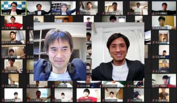 川口能活さん「今できることを」 元日本代表GK、高校生に助言 画像1