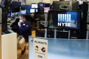 NY株反落、147ドル安 米中対立の激化を懸念 画像1