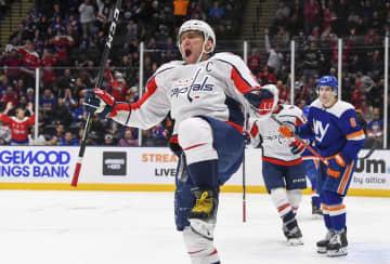 NHLオベチキン3季連続得点王 自身のリーグ記録、9度に更新 画像1