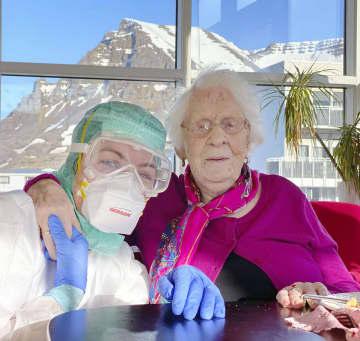 アイスランド、102歳が生還 コロナ感染、スペイン風邪も経験 画像1
