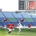 Jリーグ史上初めて無観客で行われたJ1浦和―清水戦=2014年3月、埼玉スタジアム