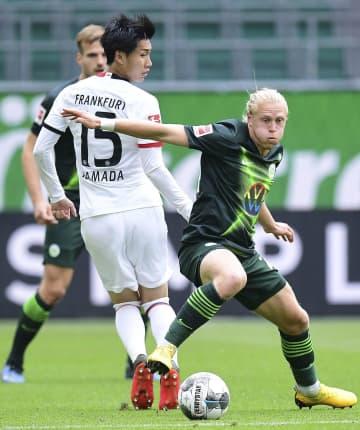 サッカー、鎌田2試合連続ゴール ドイツ1部、チームの勝利に貢献 画像1