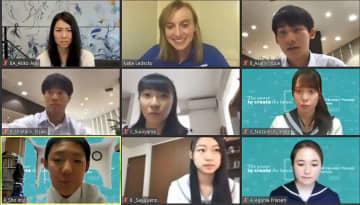 米五輪選手と中高生がネット交流 新しい理系の学び方を体験 画像1