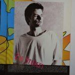リンゴとオール・スター・バンドの95年ツアーのパンフレットに載っているザックの紹介ページ。