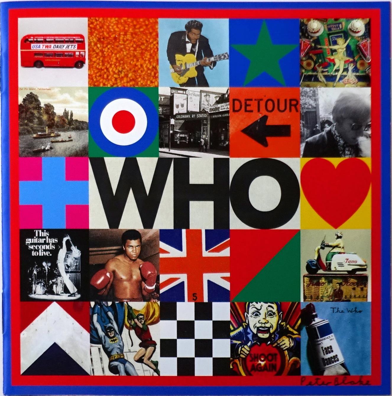 ザックが参加したザ・フーのアルバム『WHO』。
