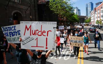 米抗議デモ、各地で暴徒化 黒人暴行死、4千人拘束 画像1