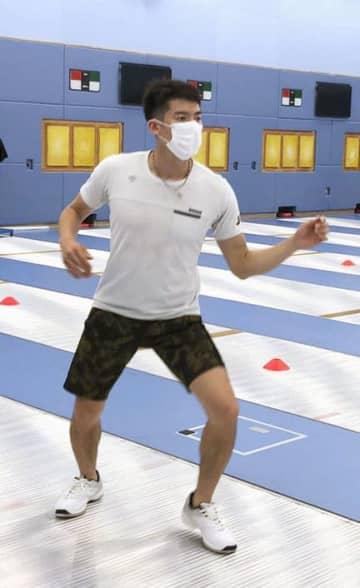 フェンシング代表が練習再開 エペ見延「楽しむことできた」 画像1