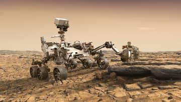 米、火星探査車を7月打ち上げ 土壌を採取、生命の痕跡探る 画像1