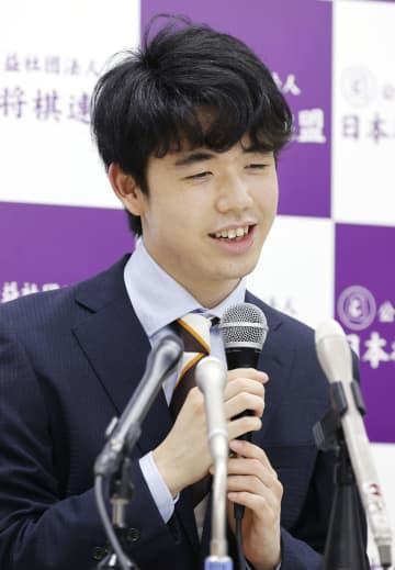藤井七段、最年少タイトル挑戦 棋聖戦、30年ぶり記録更新 画像1