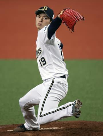 オリ、山岡が今季も開幕投手 2年連続、昨季は勝率第1位 画像1