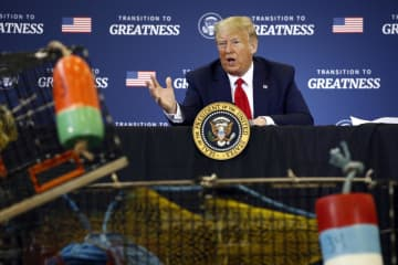 EUのロブスター関税に米対抗も トランプ氏、強気アピール 画像1