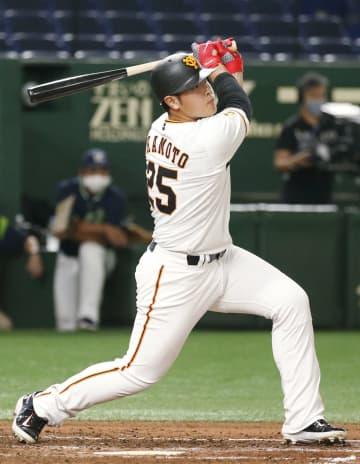 巨人、岡本の3ランで快勝 阪神・原口3安打3打点の活躍 画像1
