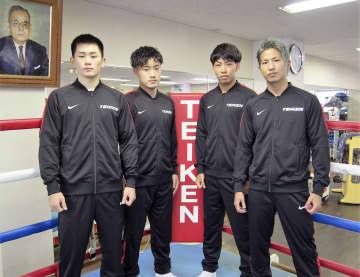 ボクシング、村田昴らプロ転向 帝拳ジム 画像1