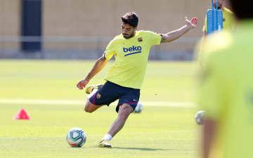スアレス、再開初戦で復帰へ スペイン1部リーグ・バルセロナ 画像1