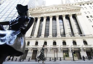 NY株続落、282ドル安 ナスダックは最高値1万ポイント 画像1