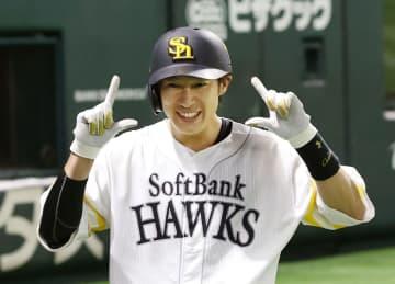 ソフトB柳田が3試合連続本塁打 プロ野球練習試合 画像1