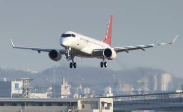 国産初のジェット、人員半減へ 海外拠点閉鎖、三菱航空機 画像1