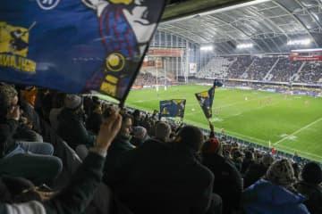 NZでラグビー再開、観客2万超 コロナ感染ゼロで制限なし 画像1