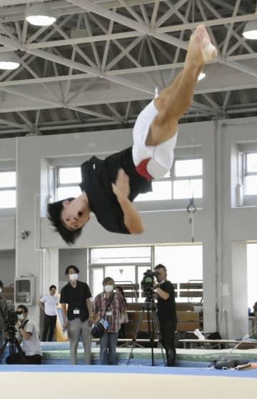 体操男子の南一輝が練習公開 「磨ける時間が増えた」 画像1