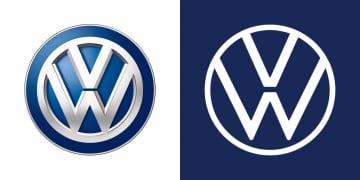 VW、新ロゴを日本に導入 平面的でシンプルに 画像1