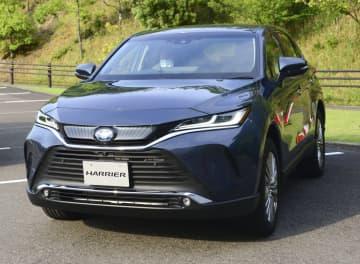 トヨタ、新型ハリアーを発売 6年半ぶり、乗り心地向上 画像1
