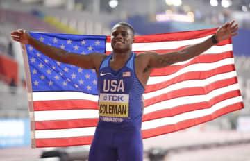 陸上、コールマンが資格停止か 男子100mの世界選手権覇者 画像1