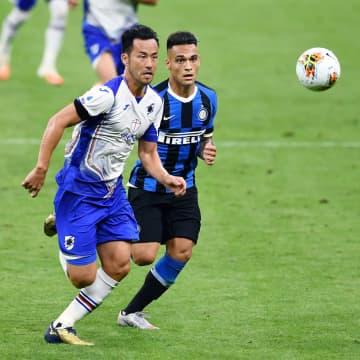 サッカー、吉田麻也がフル出場 チーム敗れる、イタリア1部 画像1