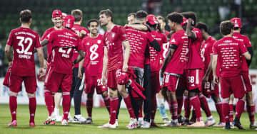 サッカー、Bミュンヘンが8連覇 欧州各L、イングランドなど再開 画像1