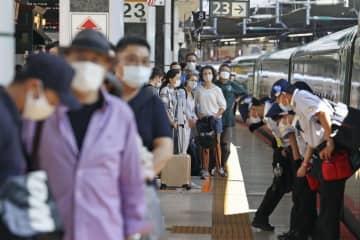 JR東、新幹線・特急は5割増 移動解禁初の土日、前週と比較 画像1