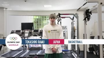 五輪デーに、IOC特別企画 日本からバスケ渡嘉敷ら 画像1