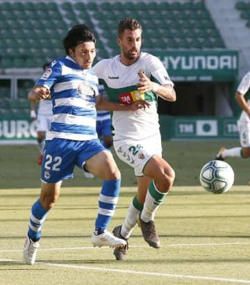 香川は途中出場、柴崎は一発退場 サッカーのスペイン2部 画像1