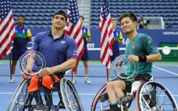 全米テニス、車いすの部開催へ 批判受け中止の方針転換 画像1