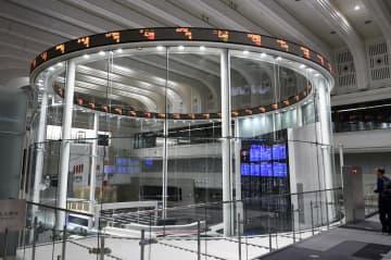 東証反発、252円高 欧米株高を好感、買い優勢 画像1