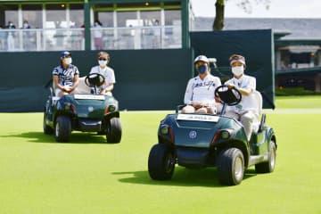 女子ゴルフ、開幕戦終え安堵 小林浩美会長「準備に尽きる」 画像1