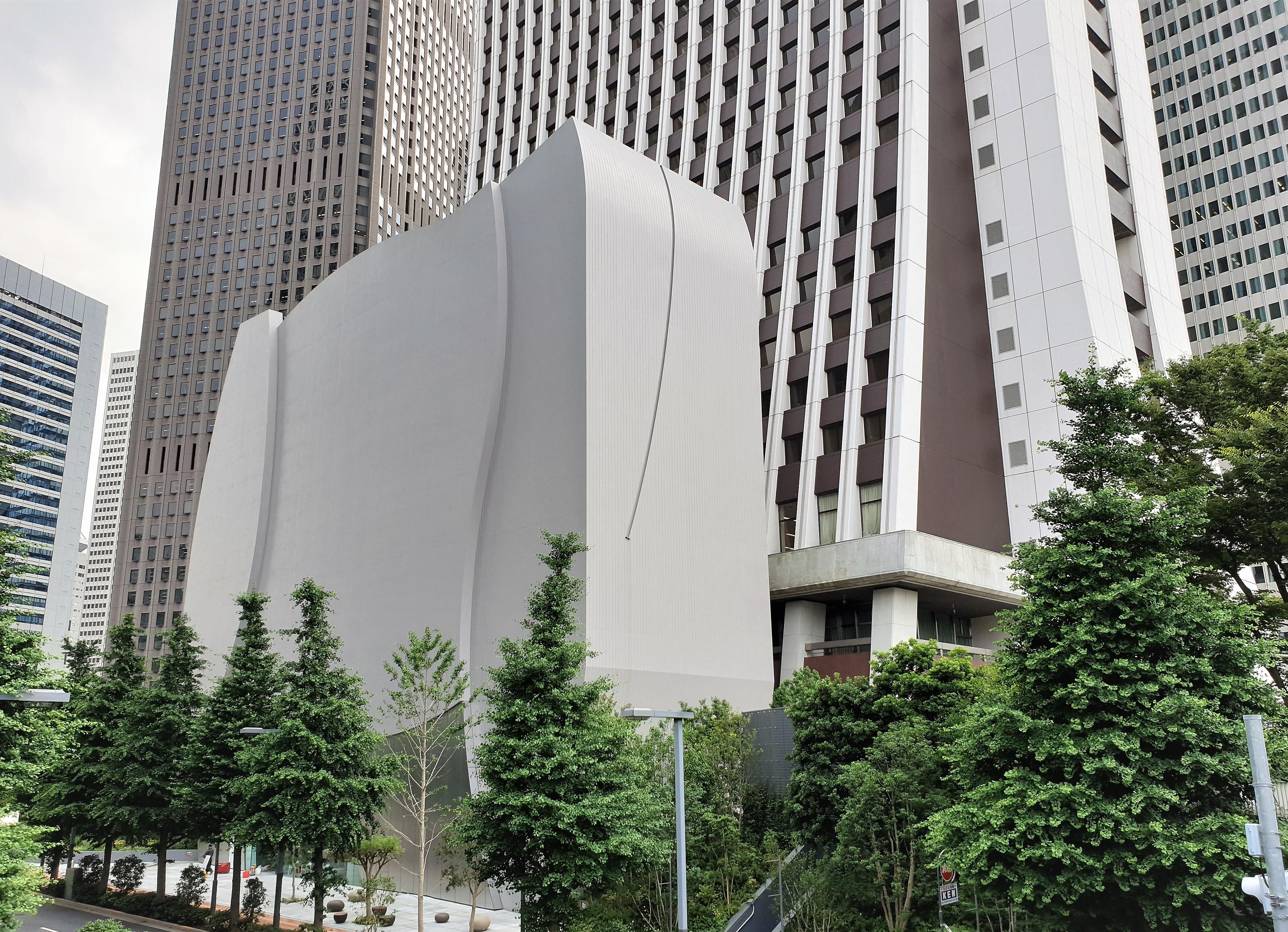 7月10日(金)にオープンするSOMPO美術館は建物自体もアートのよう