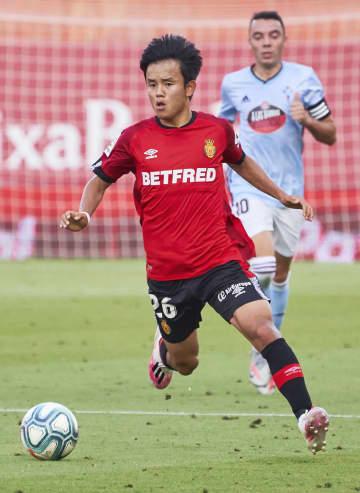 サッカー、久保建4点に絡む活躍 スペイン1部リーグ 画像1