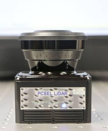 レーザー測距、小さく安く 「フォトニック結晶」利用 画像1