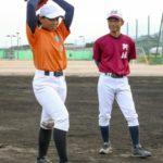 唯一の女子球児、マウンドへ 徳島の代替大会で始球式 画像1