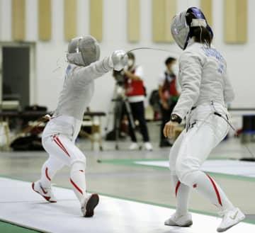 江村美咲「良いチームに」 フェンシング代表合宿公開 画像1