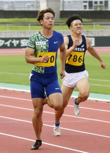 陸上の白石、100mもV 地元の鹿児島県選手権 画像1