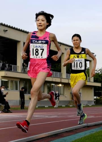 陸上再開、前田は女子5千m2位 ホクレン第1戦 画像1